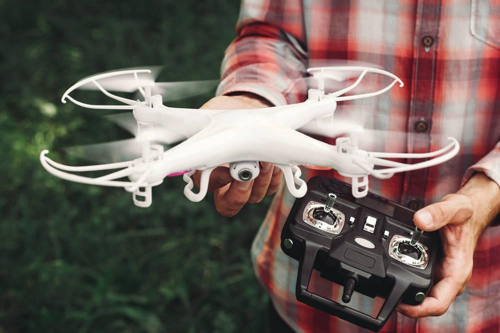 Drones la nueva moda de la Navidad