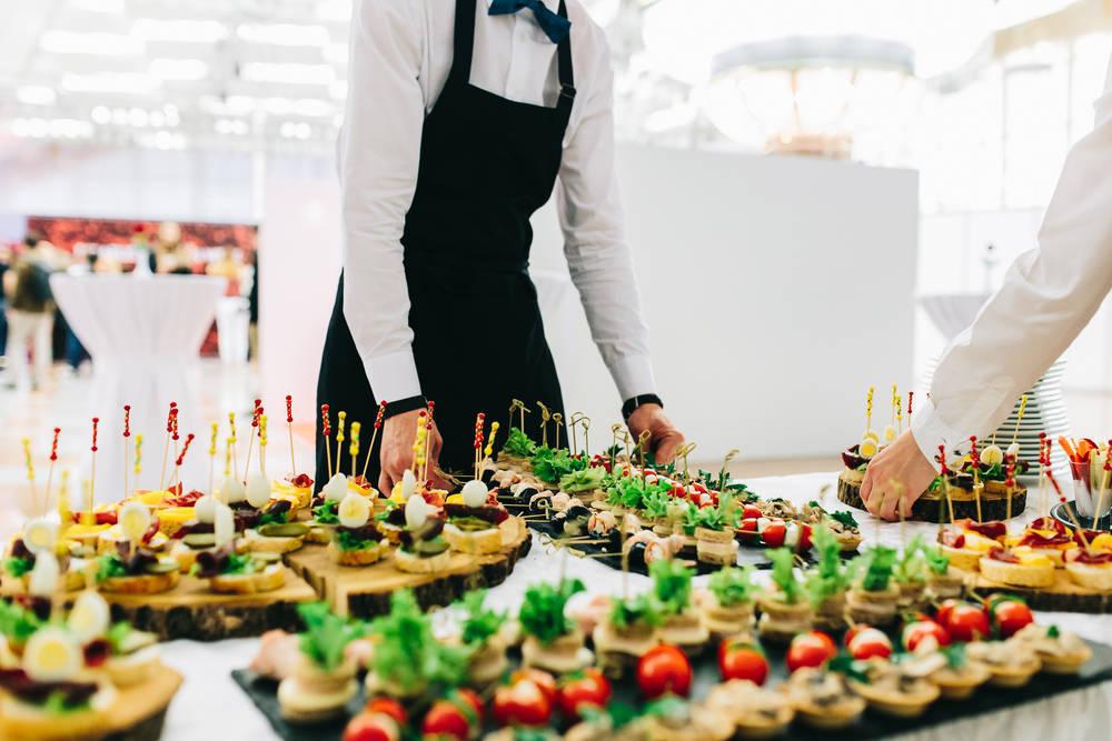 El catering para la recepción de las bodas gana adeptos