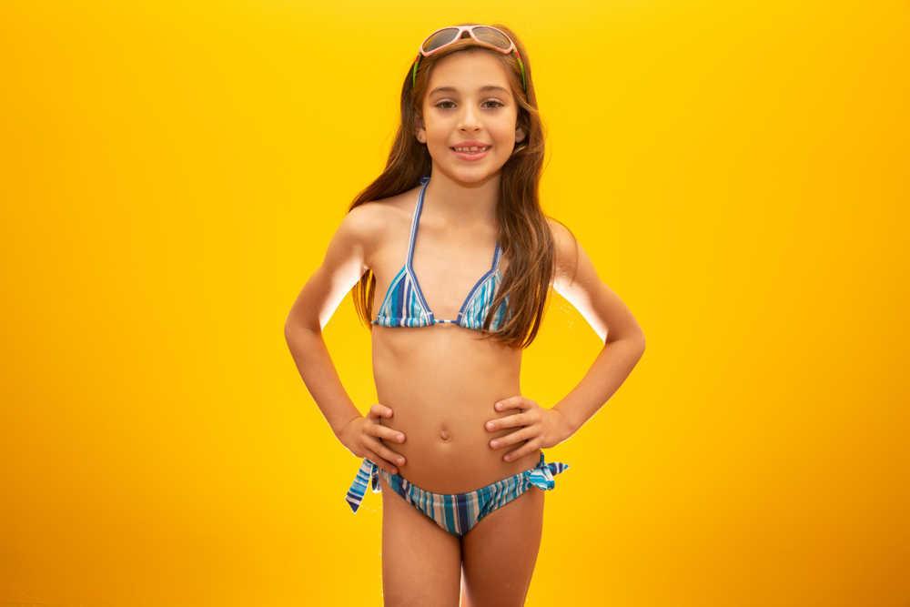 Polémica por la ropa de baño infantil